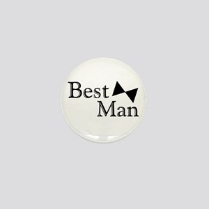 Best Man Mini Button